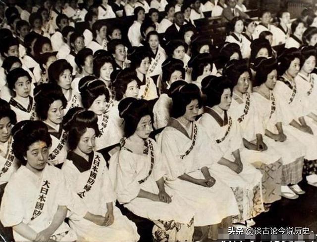 二戰中,日本女人有多壞?難以置信,超乎你的想象