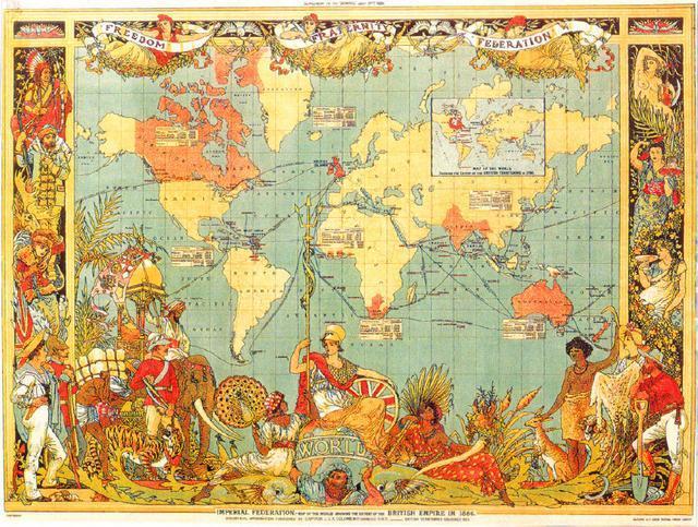 混得最慘的世界霸主,領土只剩2%, 國內最有錢的省還不斷鬧獨立