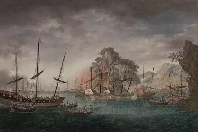虎門海戰:大清海盜張保仔的最后狂奔