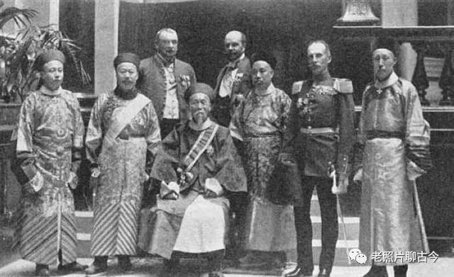 德國圖書館珍藏的老照片:欽差大臣李鴻章訪問德國盛況