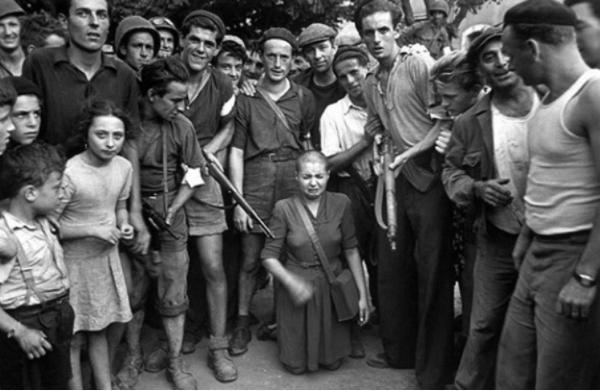 瑪利亞選擇報仇,籌集5萬盧布得斯大林批準參軍,殺死不少德國人