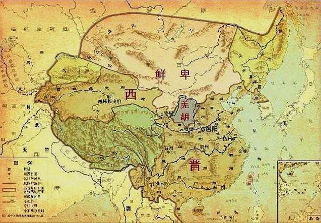 """五胡內遷:漢魏給西晉留下的""""定時炸彈""""最終爆炸"""
