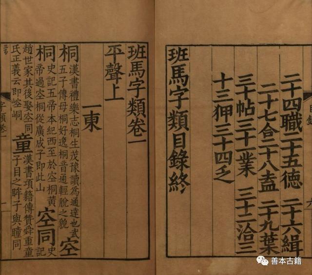 《班馬字類》一書對文字的見解