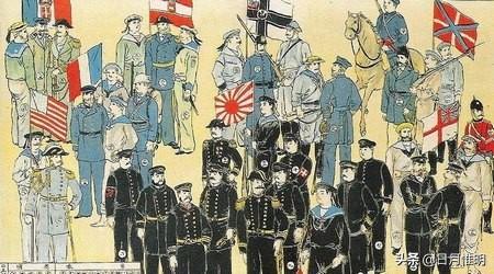五千年的智慧不是白給的,所以兩次世界大戰我們都是戰勝國