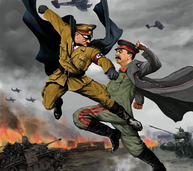 國力和國土面積無關?為何二戰中德國能單挑美蘇英法等世界大國?