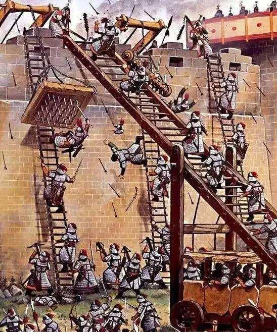 古人打仗城池久攻不下,繞行攻打后面防守弱的行嗎,結果都是如此